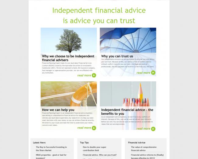 Financial  Planning Expert
