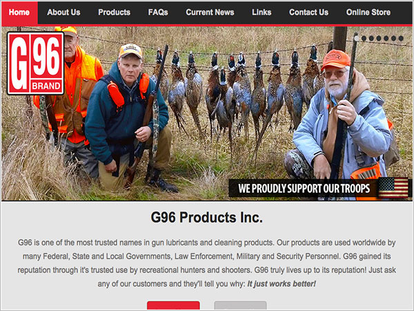 G96 Products Inc.