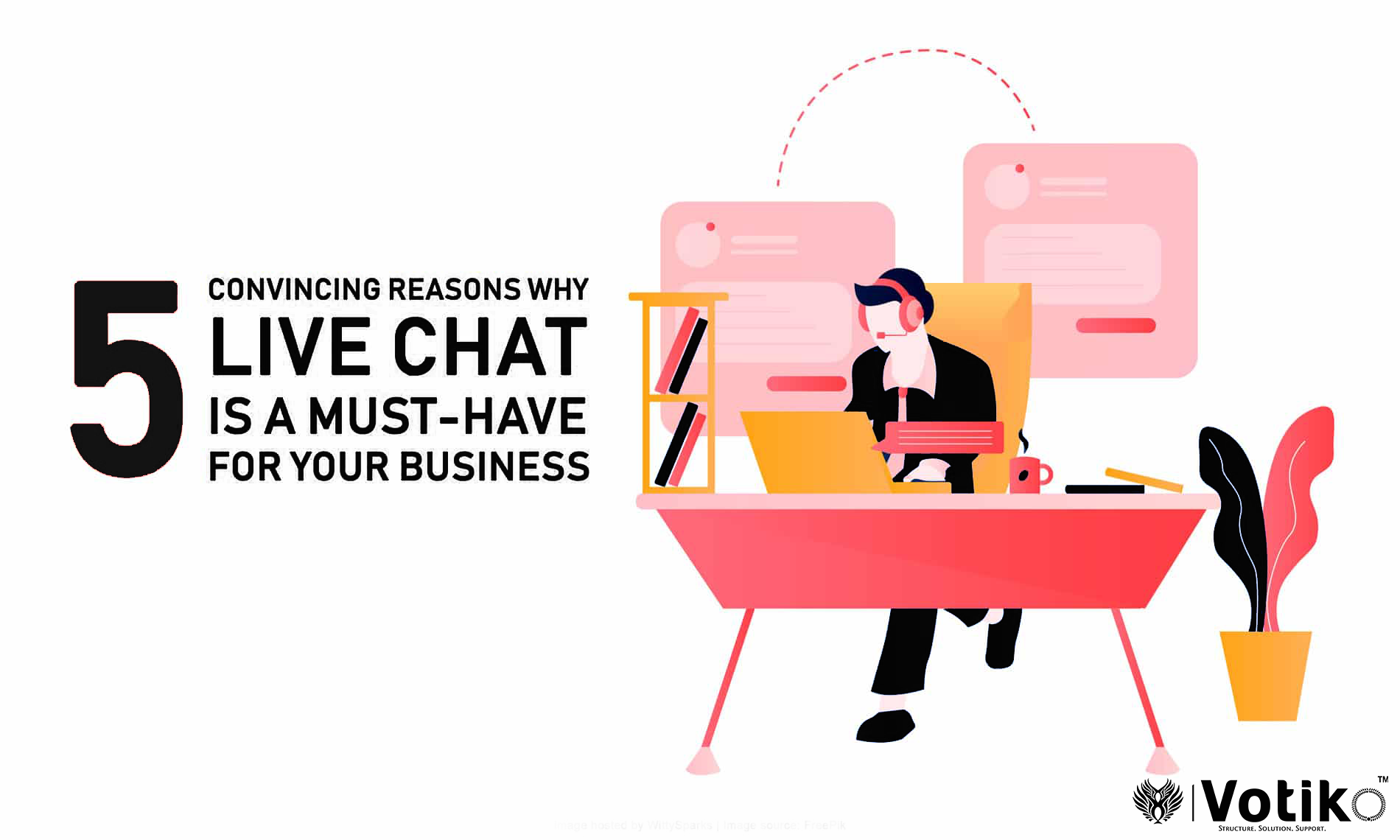5 Ways a Business Can Benefit from a Live Chat Support System