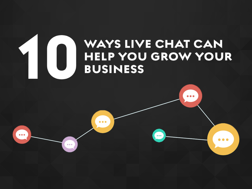 10 Ways Live Chat Can Help You Grow Your Business