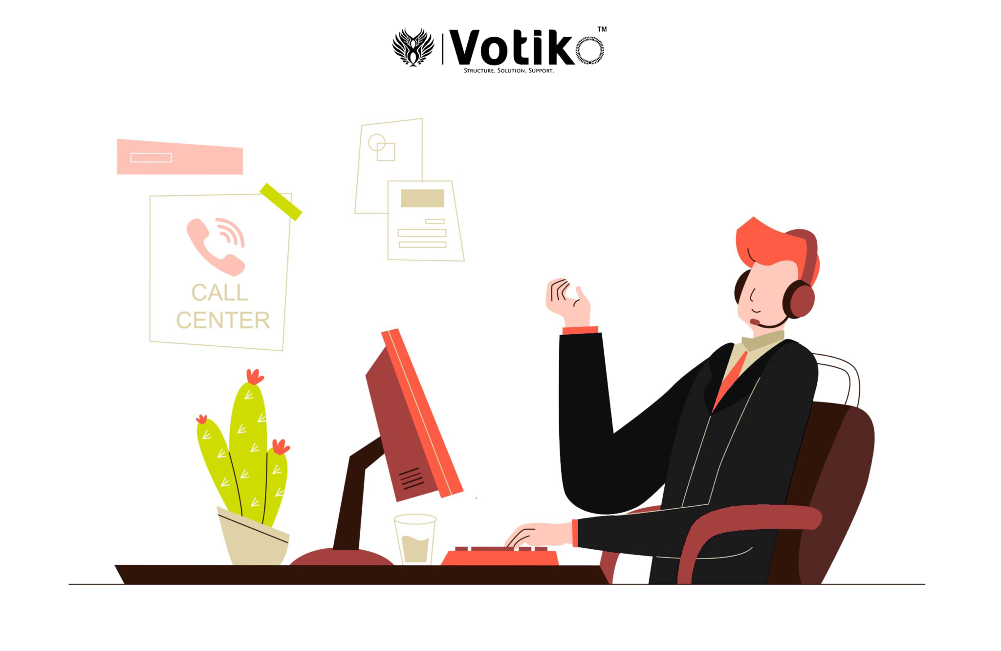 With inbound call center outsourcing, you may turn a cost center into a profit center